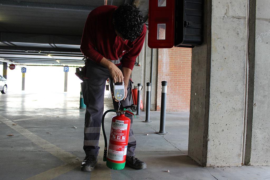 Servicio de extintores Valencia