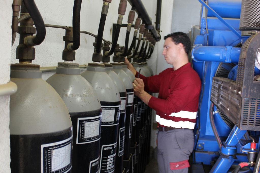 Mantenimiento de sistemas de extinción por gas-2