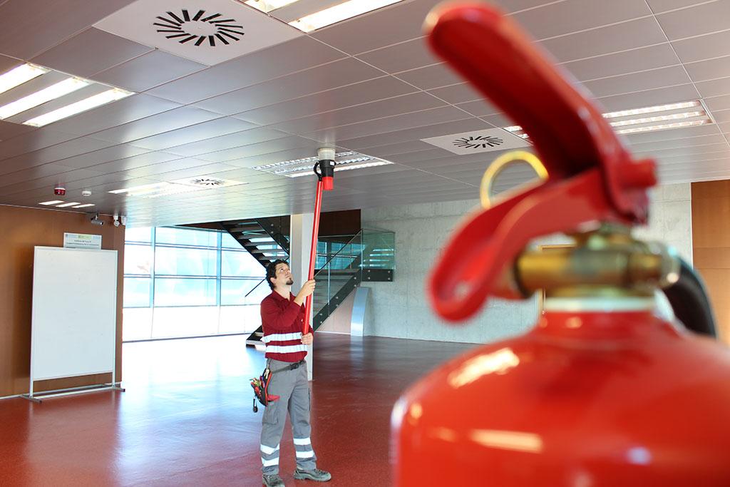 Mantenimiento protección contra incendios