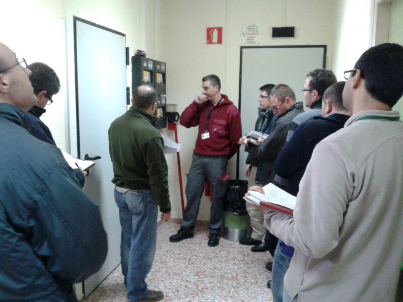 SOLER imparte formación en NAVEGACIÓN AÉREA del funcionamiento de los sistemas contra incendios