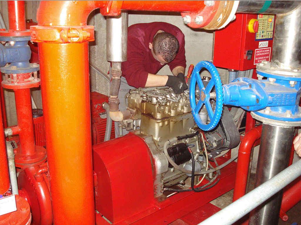 abastecimiento de agua contra incendios