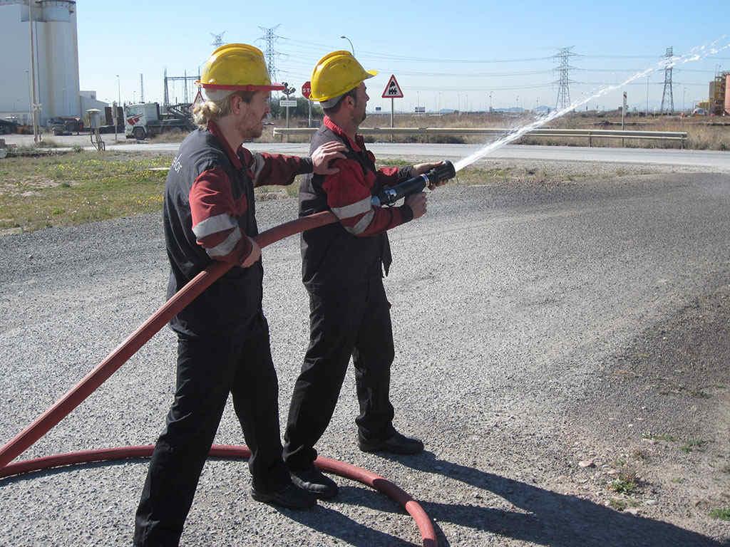 cursos contra incendios
