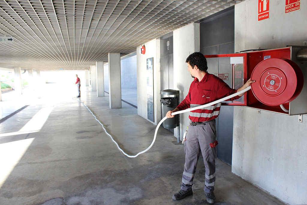 mantenimiento bocas de incendio equipadas