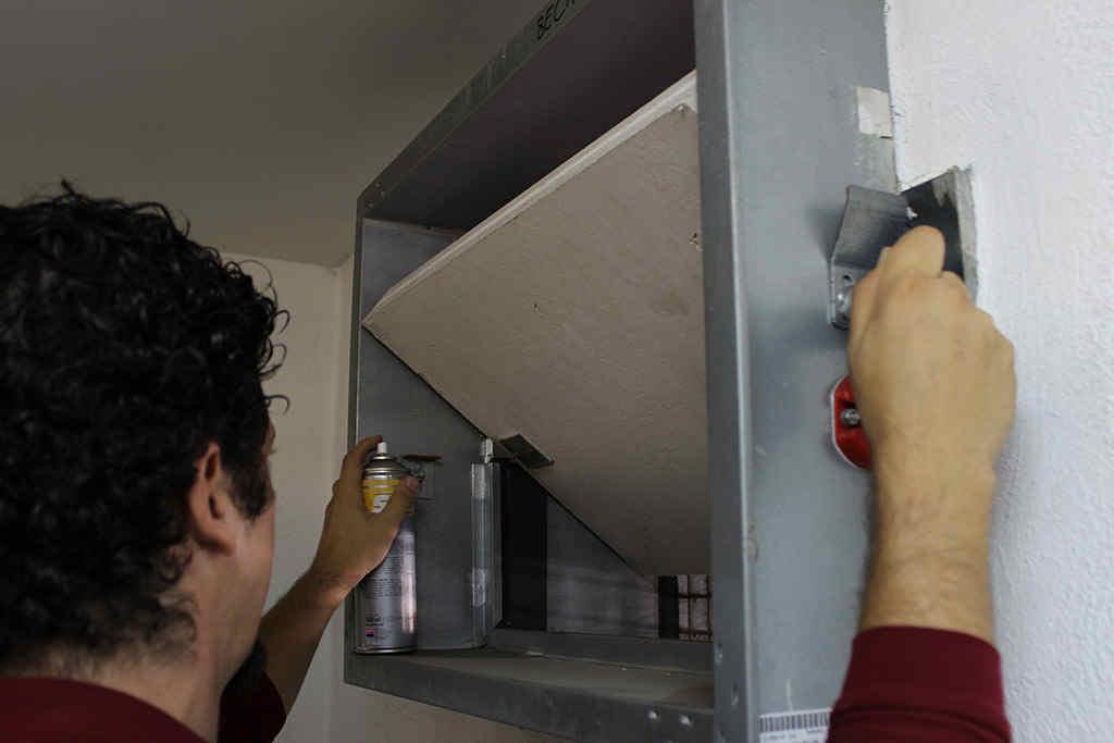mantenimiento compuertas cortafuegos