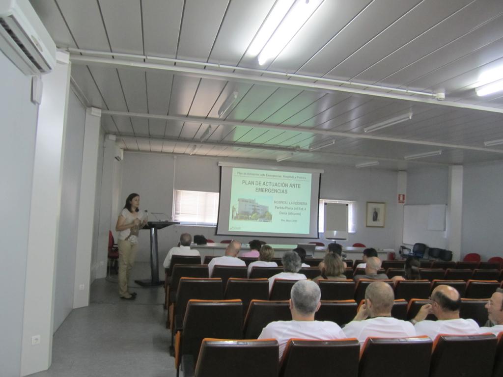SOLER realiza jornadas de Implantación del Plan de Autoprotección en el Hospital de la Pedrera de Dénia-3