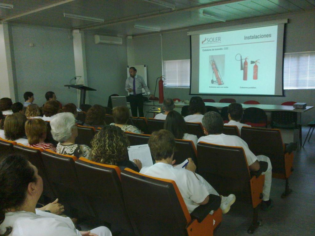 SOLER realiza jornadas de Implantación del Plan de Autoprotección en el Hospital de la Pedrera de Dénia-4