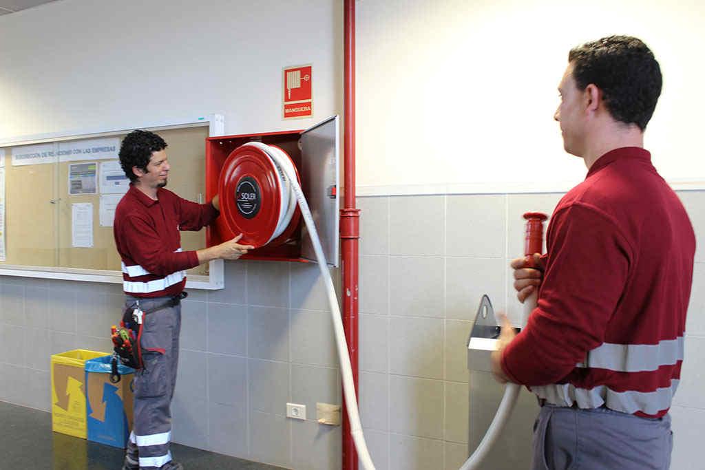 Mantenimiento sistemas contra incendios valencia soler for Medidas contra incendios