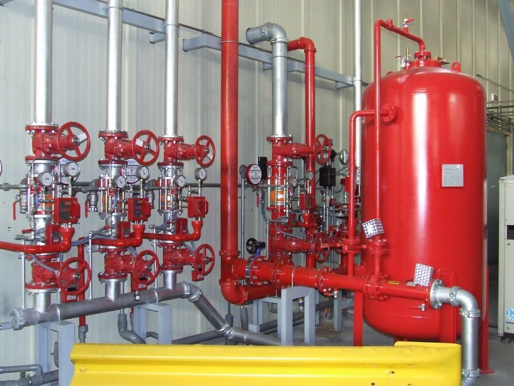 sistemas de espuma contra incendios