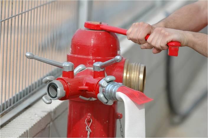 hidrante contra incendios