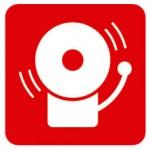 alarma contra incendios señal