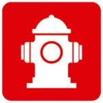 señal hidrante contra incendios