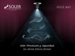 Soler Prevención os desea Feliz Navidad y un próspero 2017
