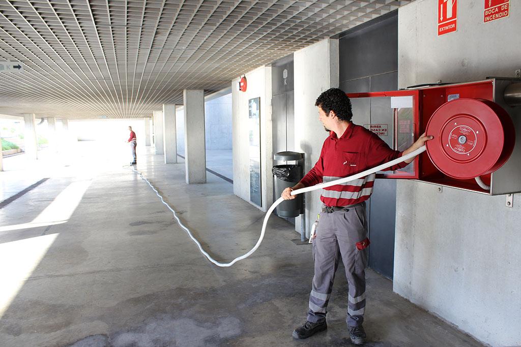 Mantenimiento de bocas de incendio equipadas - BIEs-1