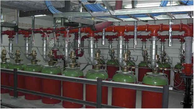 extintores contra incendios por gases