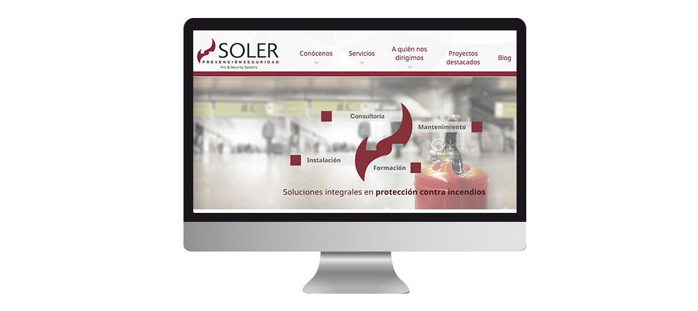 Nueva web Soler