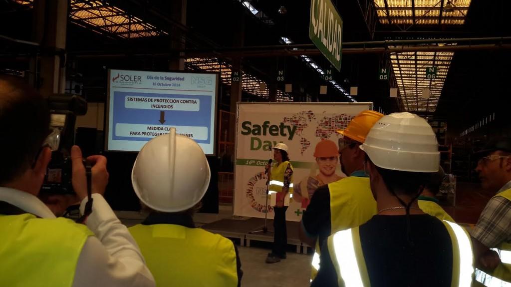 Soler Prevención y Seguridad participa en la celebración del día de la seguridad en NSG Group
