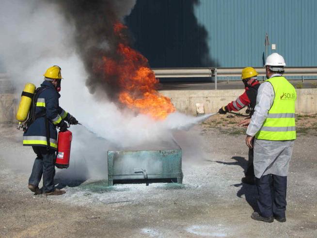 formacion contra incendios para particulares